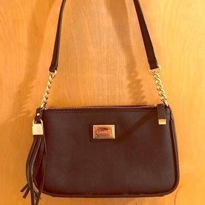 Calvin Klein black and gold purse